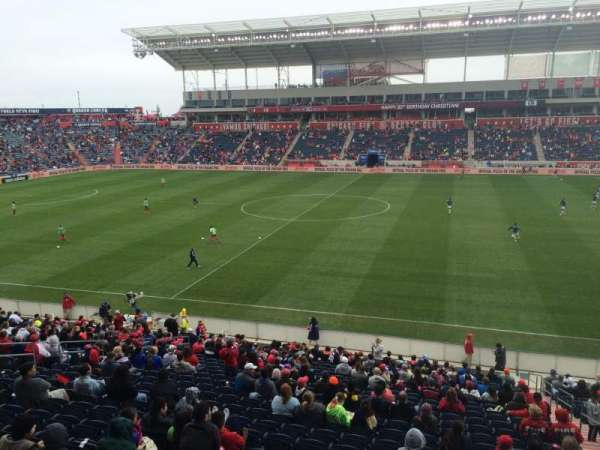 SeatGeek Stadium, secção: 106, fila: 25, lugar: 3