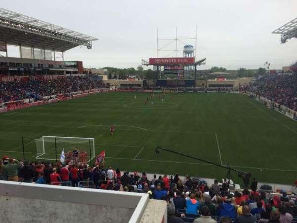SeatGeek Stadium, secção: 116, fila: 27, lugar: 8