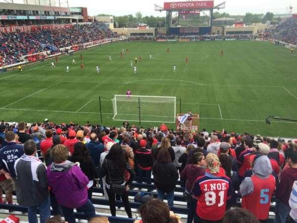 SeatGeek Stadium, secção: 117, fila: 25, lugar: 9