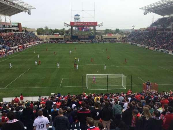 SeatGeek Stadium, secção: 118, fila: 25, lugar: 9