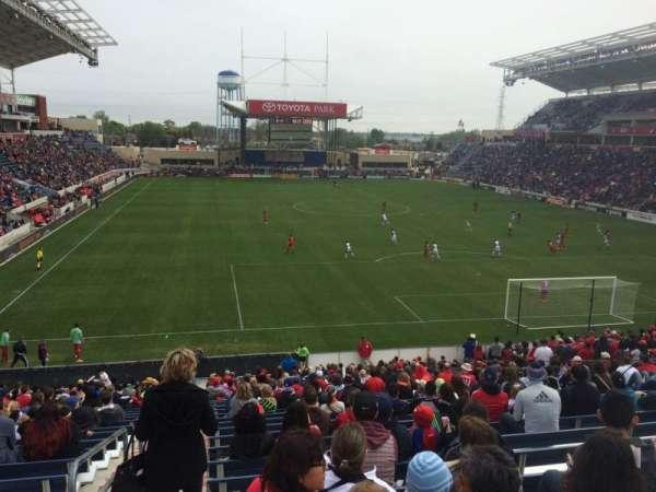 SeatGeek Stadium, secção: 119, fila: 27, lugar: 8