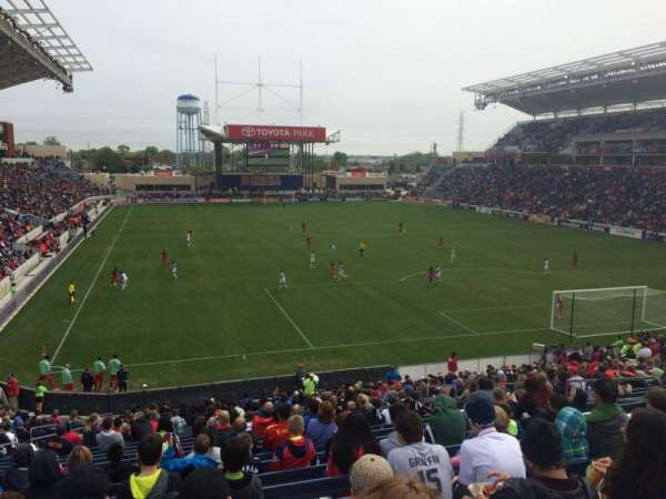 SeatGeek Stadium, secção: 120, fila: 28, lugar: 10