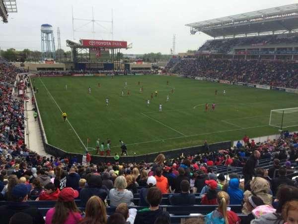 SeatGeek Stadium, secção: 121, fila: 27, lugar: 10