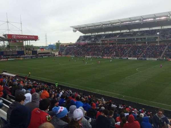 SeatGeek Stadium, secção: 124, fila: 24, lugar: 1