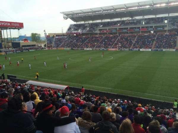 SeatGeek Stadium, secção: 126, fila: 20, lugar: 1