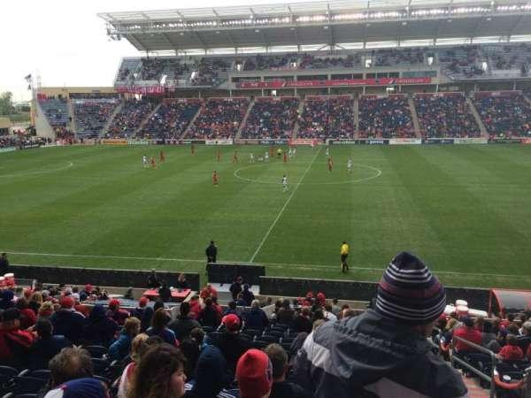 SeatGeek Stadium, secção: 128, fila: 20, lugar: 1