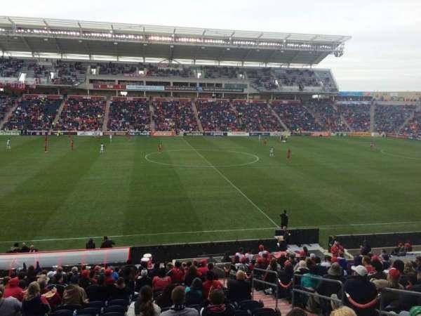 SeatGeek Stadium, secção: 129, fila: 20, lugar: 12