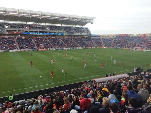 SeatGeek Stadium, secção: 130, fila: 20, lugar: 22