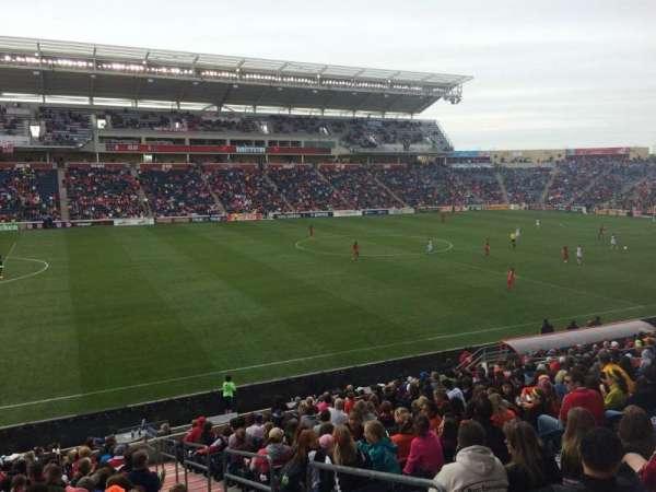 SeatGeek Stadium, secção: 131, fila: 20, lugar: 1