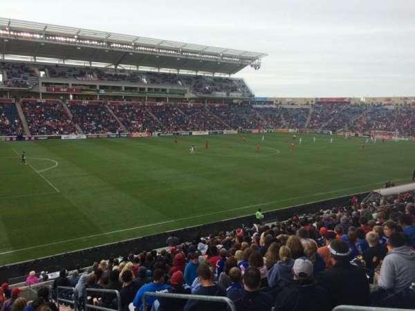 SeatGeek Stadium, secção: 132, fila: 20, lugar: 1