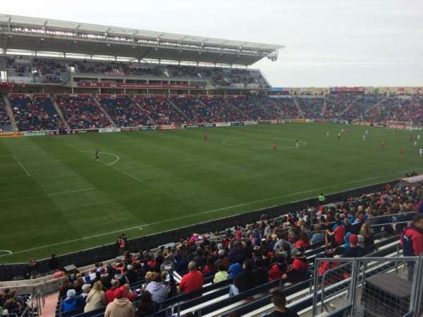 SeatGeek Stadium, secção: 132, fila: 25, lugar: 7