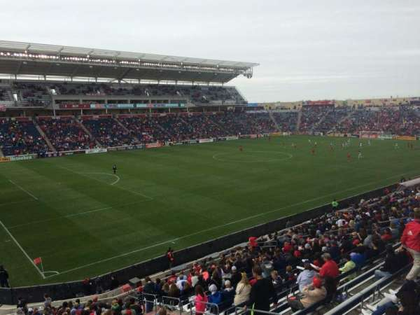 SeatGeek Stadium, secção: 133, fila: 25, lugar: 6