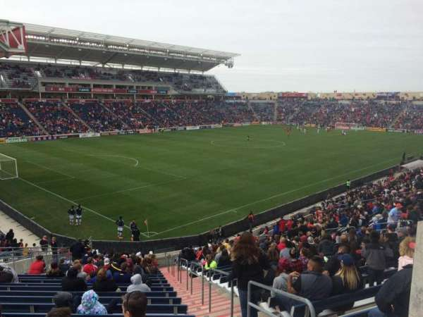 SeatGeek Stadium, secção: 134, fila: 27, lugar: 1