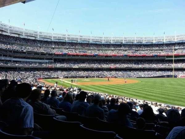 Yankee Stadium, secção: 109, fila: 24, lugar: 7