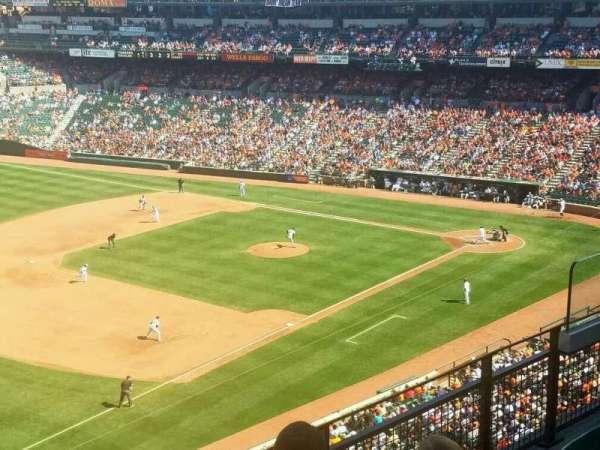 Oriole Park at Camden Yards, secção: 364, fila: 4, lugar: 9
