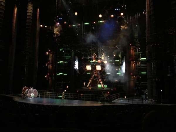 KÀ Theatre - MGM Grand, secção: 103, fila: R, lugar: 5