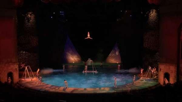 O Theatre, secção: 203, fila: X, lugar: 21