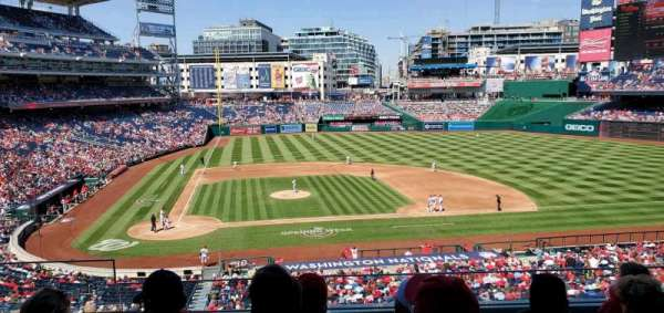 Nationals Park, secção: 218, fila: E, lugar: 20
