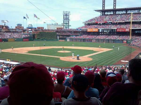 Citizens Bank Park, secção: 125, fila: 31, lugar: 11