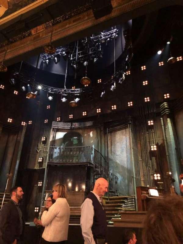 Walter Kerr Theatre, secção: Orchestra R, fila: G, lugar: 2