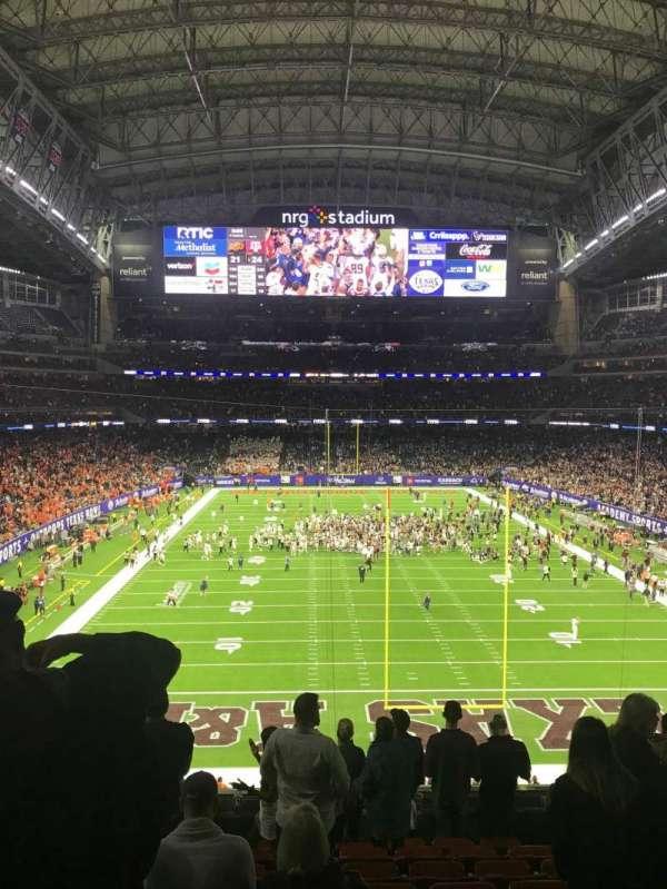 NRG Stadium, secção: 324, fila: J, lugar: 13