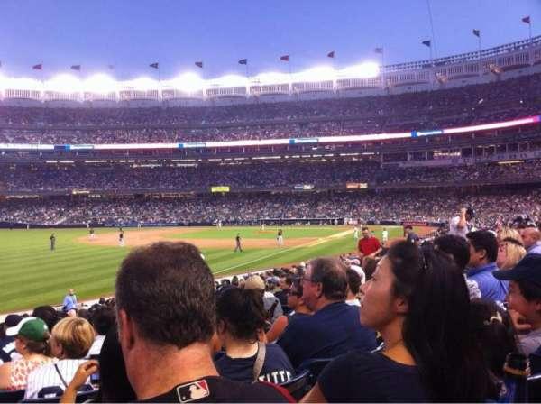 Yankee Stadium, secção: 130, fila: 21, lugar: 20