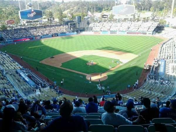 Dodger Stadium, secção: 3rs, fila: U, lugar: 6