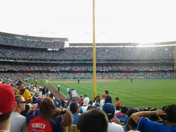 Dodger Stadium, secção: 50FD, fila: P, lugar: 7