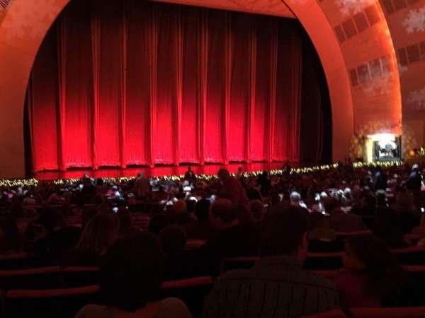 Radio City Music Hall, secção: Orchestra 6, fila: N, lugar: 606