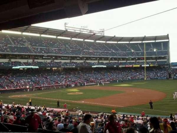 Angel Stadium, secção: T226, fila: K, lugar: 3
