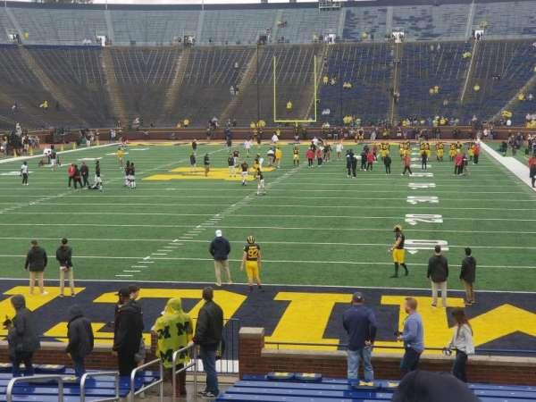 Michigan Stadium, secção: 11