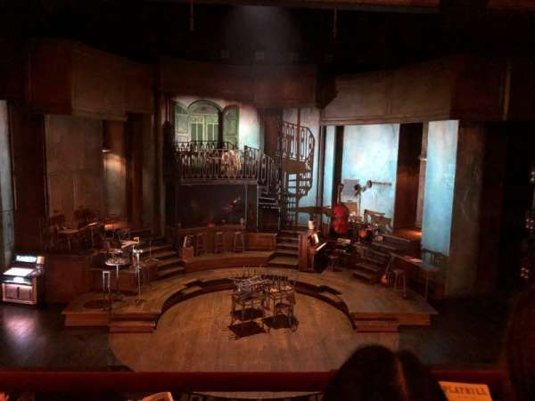 Walter Kerr Theatre, secção: Mezzanine C, fila: 2, lugar: 108