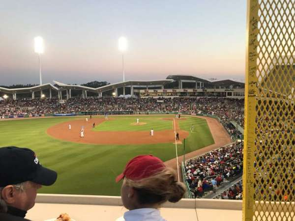 JetBlue Park, secção: Monster, fila: SR