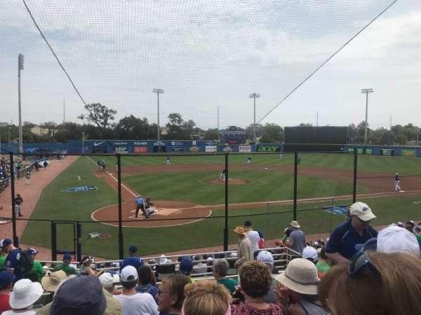 Florida Auto Exchange Stadium, secção: 205, fila: 8, lugar: 14