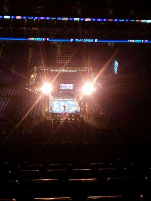 The O2 Arena, secção: 419, fila: S