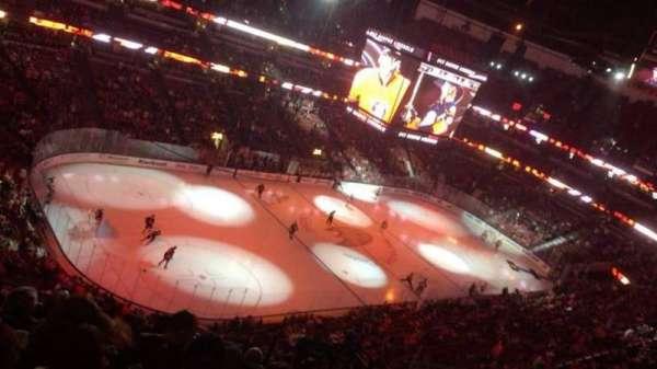 Honda Center, secção: 439, fila: M, lugar: 5