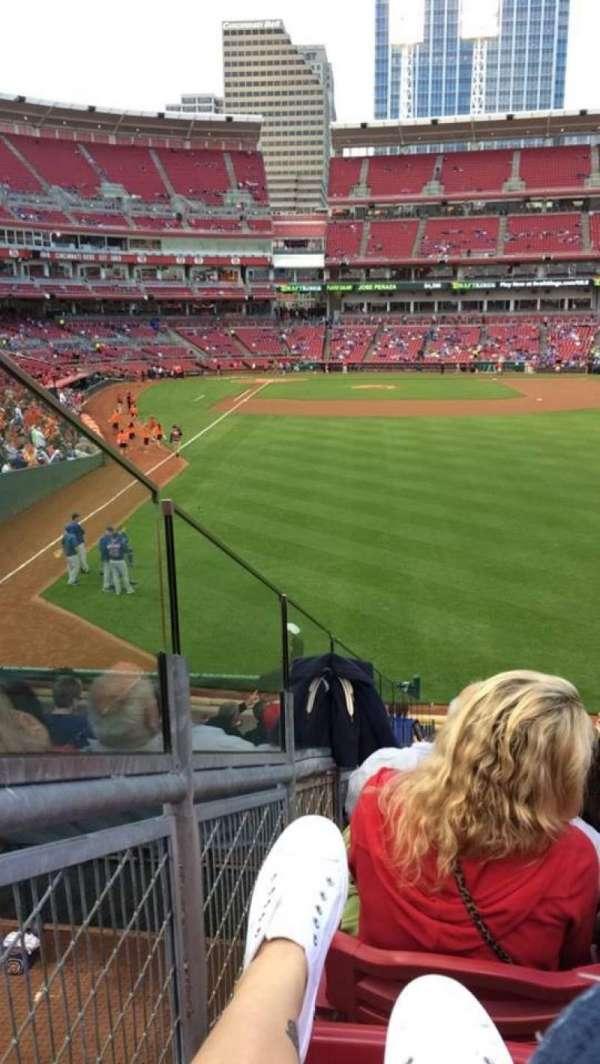 Great American Ball Park, secção: 140, fila: N, lugar: 11