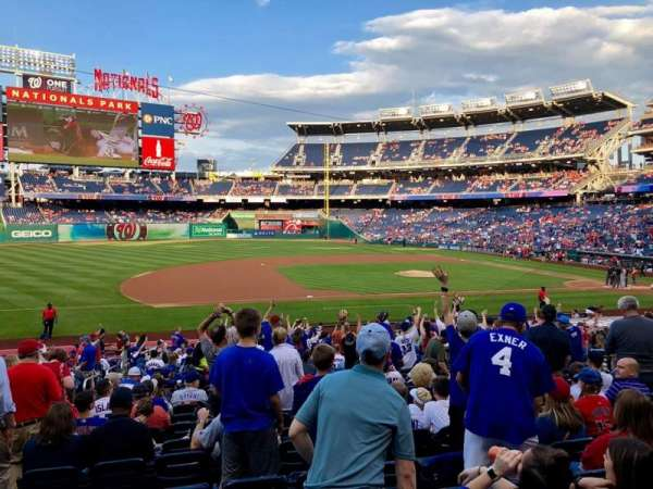 Nationals Park, secção: 115, fila: EE, lugar: 16