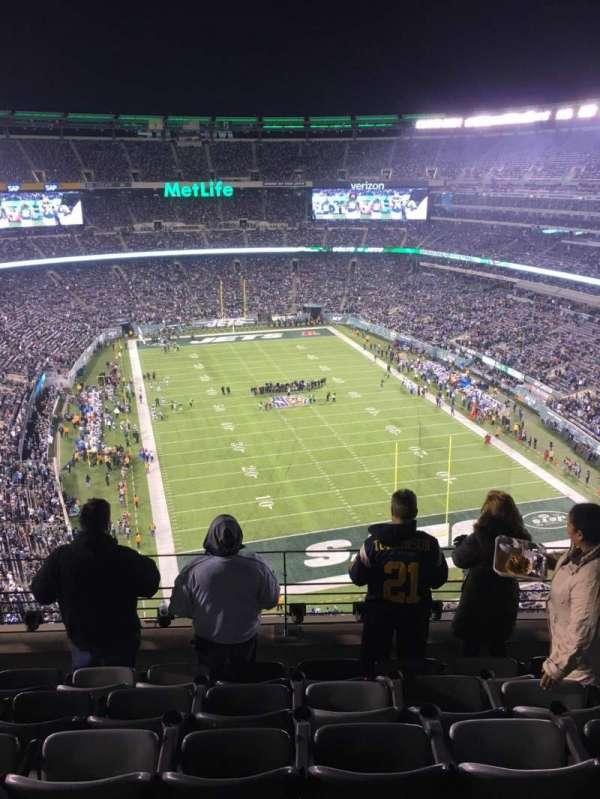 MetLife Stadium, secção: 303, fila: 10, lugar: 15