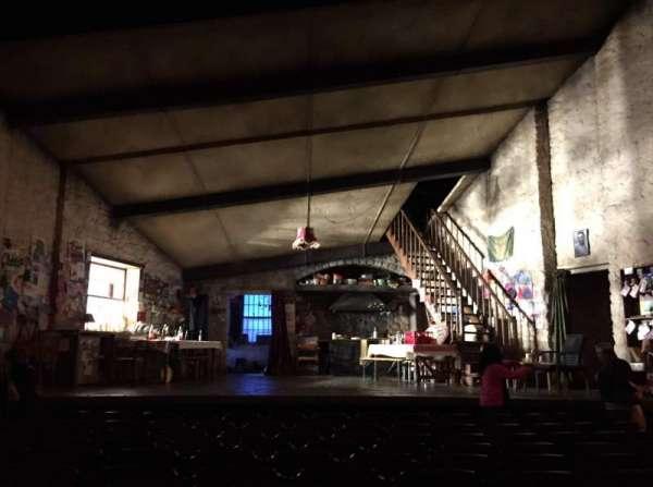 Bernard B. Jacobs Theatre, secção: Orchestra C, fila: J, lugar: 109