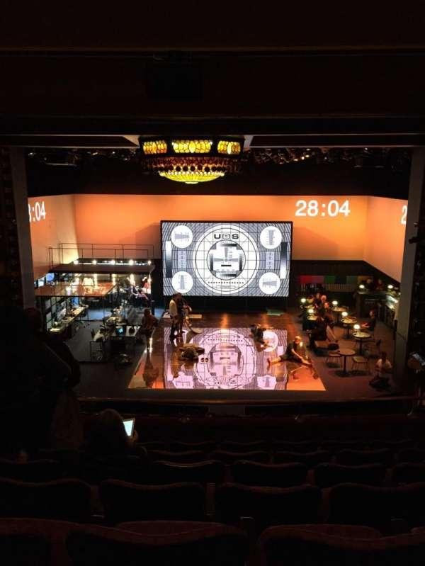 Belasco Theatre, secção: Mezzanine Center, fila: G, lugar: 107