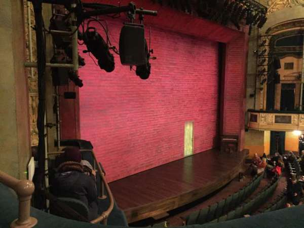 Shubert Theatre, secção: Mezzanine Left, fila: B, lugar: 27
