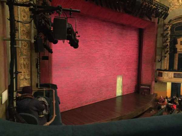 Shubert Theatre, secção: Mezzanine Left, fila: B, lugar: 25