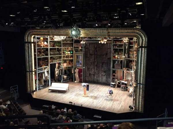 Laura Pels Theatre, secção: Rear Mezzanine Right, fila: CC, lugar: 2
