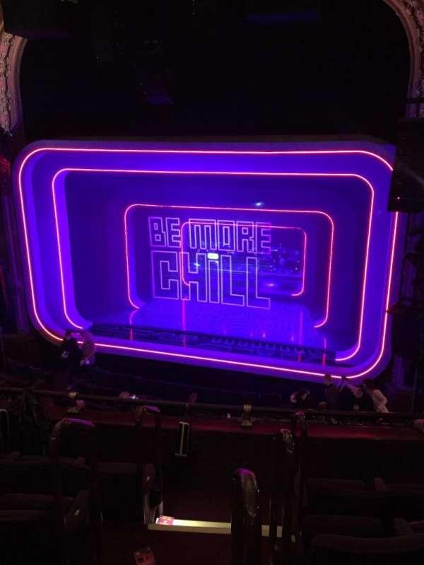 Lyceum Theatre (Broadway), secção: Mezzanine Right, fila: E, lugar: 2