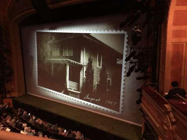American Airlines Theatre, secção: Front Mezzanine, fila: A, lugar: 104