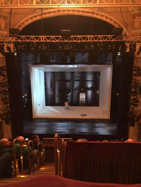 John Golden Theatre, secção: Rear Mezzanine Right, fila: A, lugar: 102