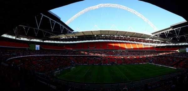 Wembley Stadium, secção: 228, fila: 15, lugar: 35