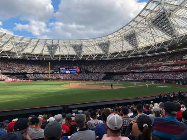 London Stadium, secção: 054, fila: 15