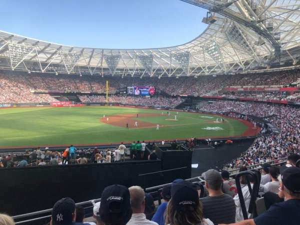 London Stadium, secção: 255, fila: 36, lugar: 719